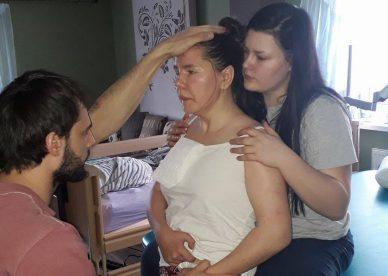 Rehabilitacja potrąconej przez samochód rowerzystki Małgorzaty Dawidowicz