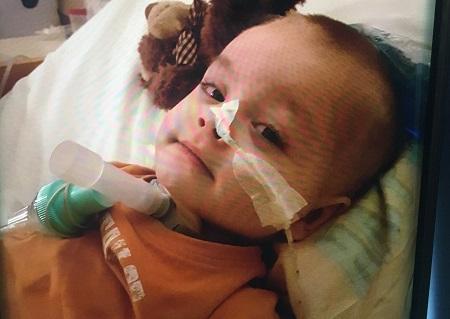 Stracił mamę i jest sparaliżowany. Dzielny maluch walczy o zdrowie i samodzielną przyszłość