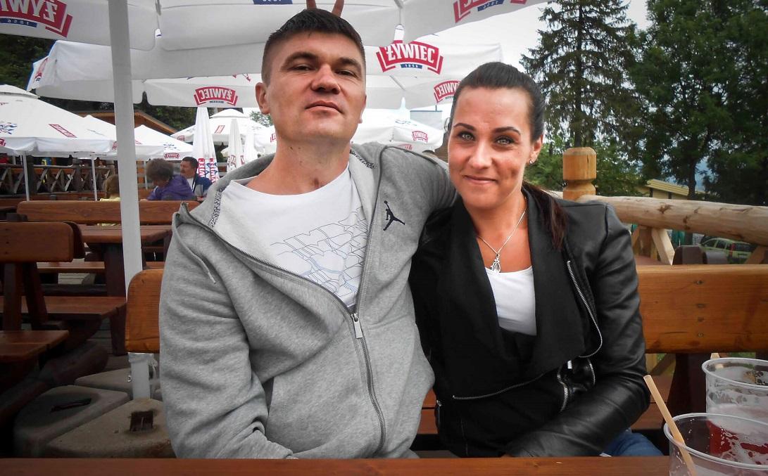 Kasia razem z mężem Mariuszem