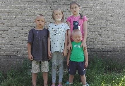 Edyta została sama z czwórką dzieci po śmierci męża w wypadku